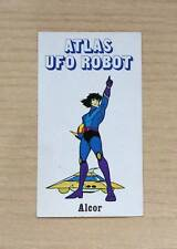 FIGURINE EDIERRE - ATLAS UFO ROBOT - ALCOR - NUOVA - NEW STICKER
