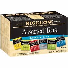 Bigelow America's Classic All Natural Tea Assorted - 18 Tea Bags - Expires 03-22