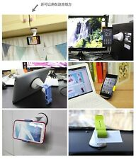 Windshield Car Black Mobile Cell Phone MP4 GPS Mount Stand Holder Pad Cradle Mat