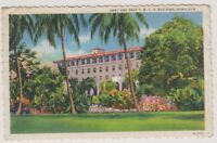 USA postcard - Army and Navy Y.M.C.A Building, Honolulu