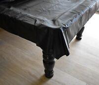 Billard Tisch Abdeckung Abdeckplane für 8ft Billardtisch 2,70x1,65m schwarz