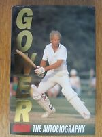 GOWER THE AUTOBIOGRAPHY HARDBACK BOOK DAVID GOWER