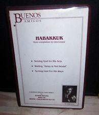 HABAKKUK Elmer Bueno audio-book Hebrew Bible tapes Delay is Not Denial 1970s