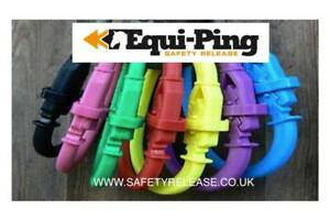 Equi-Ping Safety Release Reusable - Available in Black, Red or Purple One Size