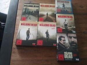 the walking dead Staffel 1 bis 7 komplett DVD und Blu-ray sehr guter Zustand