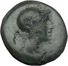 PERGAMON in MYSIA 281BC Athena Serpent Authentic Ancient Greek Coin i46962