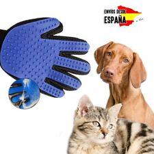 Guante Manopla Quita pelo para mascota perro gato masaje peine cepillo baño