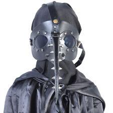 Unisex Halloween Cosplay Plague Doctor Bird Beak Steampunk Gothic Mask