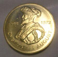 2 zł Zygmunt II August 1996 2zł GN  Poczet królów i książąt Poland Polska moneta