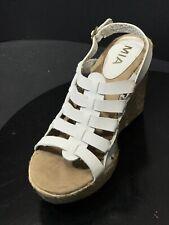 d6385ee4d4820a New Mia Women s Beatrix Espadrille Wedges White Size US ...