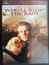 Who'll Stop the Rain? (DVD, 2001) Rare Out of Print*Nick Nolte Tuesday Weld