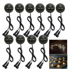10X 35mm LED Deck Step Stair Light Outdoor Landscape Yard Lighting Low Voltage
