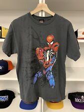 Vintage Spider Man Graphic Shirt Sz XL Youth Boys Rare Marvel 2000s Cartoon