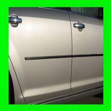 FOR SUBARU CARBON FIBER SIDE DOOR TRIM MOLDING 4PC W/5YR WARRANTY