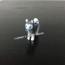 Lego HUSKY SLED DOG - Arctic Minifigure Dog from Helicrane Base Camp 60034 60036