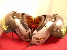 """RIDDELL """"X FORCE"""" SHOULDER PADS - 28""""-30""""/11""""-12"""" - SIZE SMALL"""