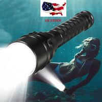3x T6 LED 50000LM Scuba Diving Flashlight Underwater 100M Torch Waterproof