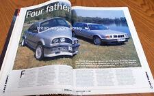 BMW Car 07/1999 - Alpina E36 B8 - BMW E36 325iX & E34 525iX - BMW E46 v BMW E36