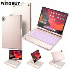 """Bluetooth Keyboard Case with 7 Colour Backlit 360 Rotation for iPad Pro 11"""" 2020"""