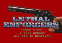 Lethal Enforcers - Sega Cd Game Only