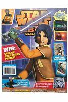 Star Wars Rebels Magazine 8 Ezra comics Poster Mandalorian Helmet Mask Kanan