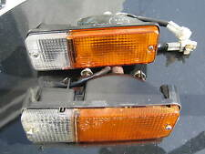 TOYOTA MR2 MK1 BUMPER  indicator  side light 4AGE AW11 breaking SPARES