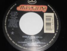 "KATHY MATTEA NM Whole Lotta Holes 45 Quarter Moon 868 394-7 Mercury 7"" vinyl"