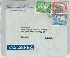 BOATS  SHIP : POSTAL HISTORY  - ADEN : AIRMAIL COVER to ITALY 1953
