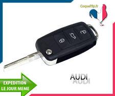 Coque Télécommande Plip 3 Boutons Audi A2 A3 A4 A5 A6 A8 TT+ clé