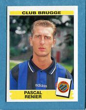 FOOTBALL 96 BELGIO Panini - Figurina-Sticker n. 106 -P. RENIER-CLUB BRUGGE-New