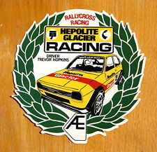 Trevor Hopkins Ford Fiesta Mk1 Hepolite Rallycross Motorsport Sticker Decal