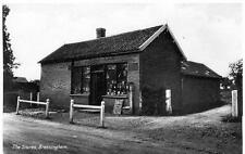 The Stores Shop Bressingham Nr Diss unused old postcard by RAP Good cond