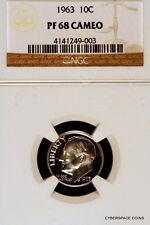 1963-P PCGS PR68 Cameo Roosevelt Dime!!
