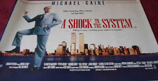 Cinema Poster: A SHOCK TO THE SYSTEM 1990 (Quad) Michael Caine
