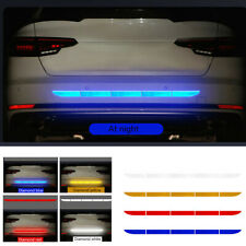 Car Auto Reflective Warn Strip Tape Bumper Safety Stickers Decal Car Accessories (Fits: Daewoo)