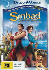 Sinbad: Legend Of The Seven Seas - Adventure / Animation / Family - NEW DVD