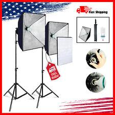 2Pack, Lighting Softbox Stand Photo Equipment Soft Studio Light Kit US seller