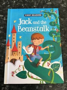 FIRST READERS JACK AND THE BEANSTALK by Parragon Book Service Ltd   HARDCOVER