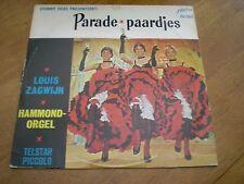 LOUIS ZAGWIJN - PARADE PAARDIES = HAMMOND ORGAN = TELSTAR PICCOLO TP 4018 TL
