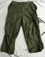 USGI Korean War Era M-1951 Arctic Trouser-Shell Men's Regular Medium-Long Pants