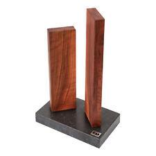 Kai Magnet-Messerblock Stonehenge Messerblock Messerhalter Messer Block Walnuss