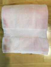 "Ralph Lauren Seashell Pink Greenwich Bath Towels Individual 30""x56"" 100% Cotton"