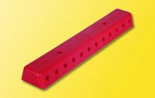 Viessmann 6844 Verteilerleiste rot mit Schrauben, 2 Stück #NEU in OVP#