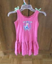 Disney Girl's Pink Cinderella Sun Dress EUC Size 7/8