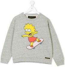The Simpsons Finger In The Nose Sweatshirt 6/7 Brand New With Tags