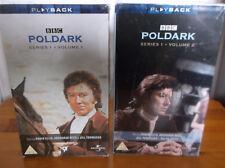 Poldark Series One Volumes 1 & 2 / 4 VHS Set New Sealed