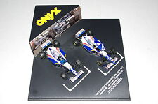 002 ONYX 1/43 F1 WILLIAMS RENAULT FW17 HILL/COULTHARD PORTUGUESE GP 1st F1 WIN
