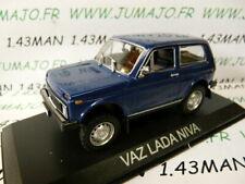 BAL65T Voiture 1/43 IXO Balkans : VAZ LADA NIVA 4X4 bleu