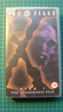 The X-Files 1: The Unopened File (VHS, 1996) Anasazi, Blessing Way, & Paper Clip