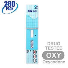 Mintegrity [200pk] Oxycodone (OXY) Dip Card Urine Drug Test #MI-WDOX-114